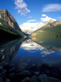 Victoria Glacier and Lake Louise, Banff National Park, Alberta, Canada Photographic Print by Adam Jones