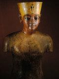King Tutankhamun, Tut Manniken, Wooden Torso, Egyptian Museum, Valley of the Kings, Egypt Photographic Print by Kenneth Garrett