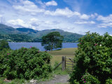 Coniston Water, Coniston Fells in Background, Cumbria, UK Photographic Print by Ian West