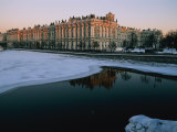 The Winter Palace and the Neva River, Winter Palace, St. Petersburg, Russia Photographic Print by Sisse Brimberg