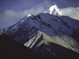 Mountains Around Everest, Tibet Photographic Print by Michael Brown