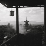 Kyoto: Pagoda from 1440 of Yasaka Photographic Print