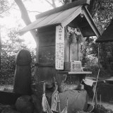 Izumo Countryside: Phallic Cult Near the Yaegaki Sanctuary Photographic Print
