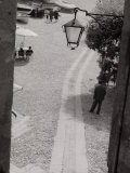 Street-Lamp, Portofino Photographic Print