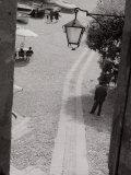 Street-Lamp, Portofino Photographic Print
