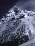 Mt. Everest from South with Dark Blue Sky, Nepal Photographic Print by Michael Brown
