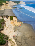 Drakes Beach, Point Reyes National Seashore, California, USA Photographic Print by Julie Eggers