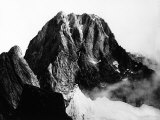 View of the Peak of Pizzo Badile in Val Masino, Sondrio Fotografisk trykk
