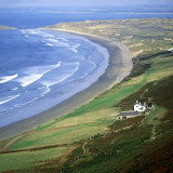South Wales, Looking North from Rhossili Photographic Print by Steve Littlewood