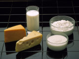 Dairy Products Photographic Print by David M. Dennis