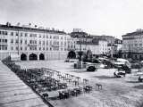 View of Piazza Grande (Piazza Unita d'Italia) in Trieste, During the Austro-Hungarian Empire Photographic Print