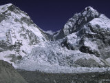 Base Camp and Khumbu Ice Fall Affiches par Michael Brown