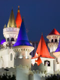 Excalibur Casino, Las Vegas, Nevada, USA Photographic Print by Walter Bibikow