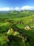 Trotternish Ridge, Isle of Skye, Scotland Photographic Print by Iain Sarjeant