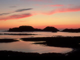 Sunset from West Coast of Isle of Iona, Scotland Photographic Print by Iain Sarjeant