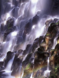 Romona Falls in Mt. Hood, Oregon Cascades, USA Photographic Print by Janis Miglavs