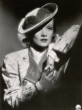 Half-Length Portrait of the Celebrated German Movie Actress Marlene Dietrich Photographic Print