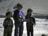 Tibetan Children Photographic Print by Michael Brown