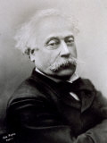 Half-Length Portrait of the Famous French Author Alexandre Dumas Fils Photographic Print