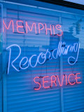 Sun Studios, Site of the First Recording of Elvis Presley, Memphis, Tennessee, USA Photographic Print by Walter Bibikow