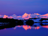 The Alaskan Range is Adjacent to Mt. Denali, Alaska, USA Photographic Print by Charles Sleicher