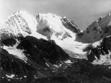 View of Julier Peak in the Lombardian Alps, View from Nair Peak Photographic Print