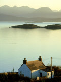 Cottage in Late Evening, Achiltibuie, Scotland Photographic Print by Iain Sarjeant