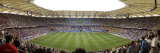 Crowd in a Stadium to Watch a Soccer Match, Hamburg, Germany Photographic Print by  Panoramic Images