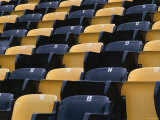 Empty Seats in Sports Stadium Photographic Print