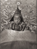 Living Buddha of Guya Ruled a Tibetan Monastery in 1927 at the Tender Age of Six Photographic Print by Dr. Joseph F. Rock