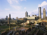 Centennial Olympic Park, Atlanta, Georgia, USA Photographic Print