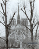 L&#39;Abside de Notre-Dame, Paris Art by Gy Zarand