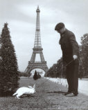 Champ de Mars, Paris Affiches par Robert Doisneau