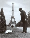 Champ de Mars, Paris Plakater af Robert Doisneau