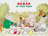 Babar en Pique-Nique Posters