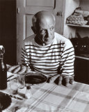 Les Pains de Picasso, c.1952 Art by Robert Doisneau