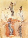 Danseuses Cambodgiennes pour Servir de Gloire Posters by Auguste Rodin