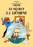 Le Secret de la Licorne, c.1943 Plakater af  Hergé (Georges Rémi)