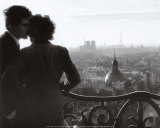 Les Amoureux de la Bastille, c.1957 Prints by Willy Ronis