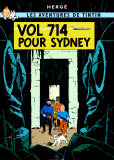 Hergé (Georges Rémi) - Vol 714 pour Sydney, c.1968 - Poster