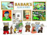 Babar's Gallery Print by Laurent de Brunhoff