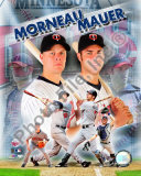 Joe Mauer &amp; Justin Morneau Photo