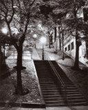 Escalier, Montmartre, c.1950 Print by Rene Jacques