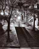 Escalier, Montmartre, c.1950 Posters by Rene Jacques