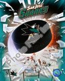 NHL San Jose Sharks Team Logo Photo