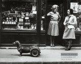 Le Chien a Roulettes, c.1977 Plakat af Robert Doisneau