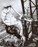 Sur la Tour Eiffel, c.1938 Pôsteres por Erwin Blumenfeld
