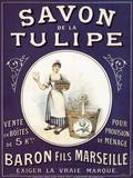 Savon Tulipe Posters