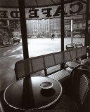 Cafe de Flore Kunst von Jeanloup Sieff