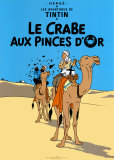 Le Crabe aux Pinces D&#39;Or, c.1941 Affiches par Herg&#233; (Georges R&#233;mi) 